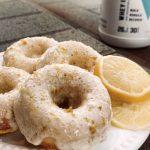 Macro Friendly Lemon Vanilla Protein Donuts Recipe - Swolverine