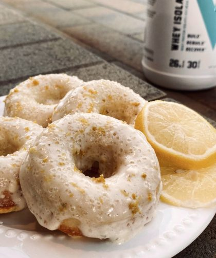 Macro Friendly Lemon Vanilla Protein Donuts Recipe - Swolverine
